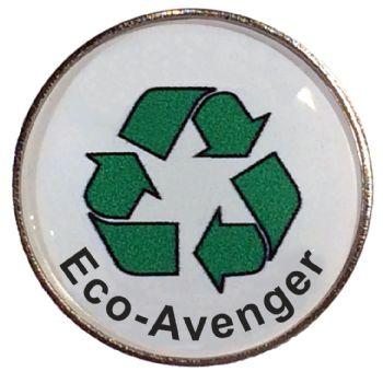 Eco-Avenger round badge